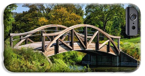 Wheaton Northside Park Bridge IPhone 6s Case by Christopher Arndt