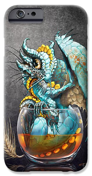 Dragon iPhone 6s Case - Whiskey Dragon by Stanley Morrison
