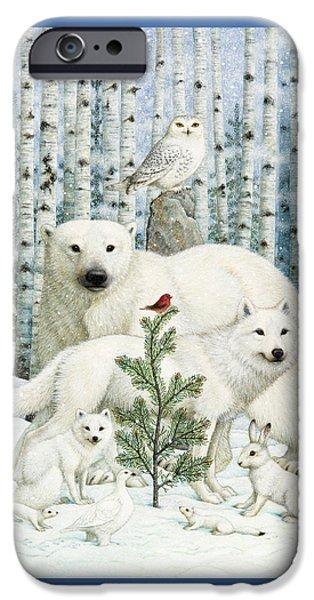 White Animals Red Bird IPhone 6s Case