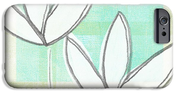 Tulip iPhone 6s Case - White Tulips by Linda Woods