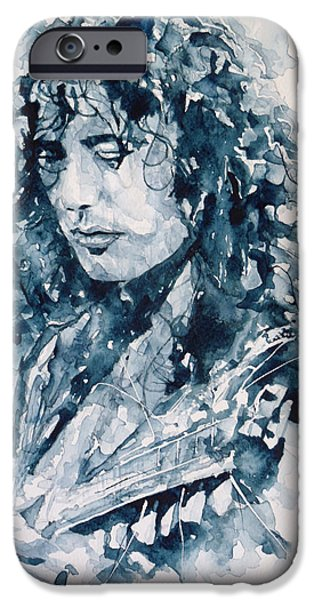 Musicians iPhone 6s Case - Whole Lotta Love Jimmy Page by Paul Lovering