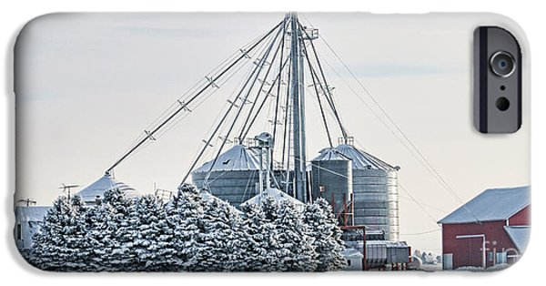 Winter Farm  7365 IPhone 6s Case by Jack Schultz