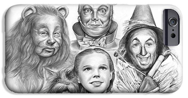Wizard iPhone 6s Case - Wizard Of Oz by Greg Joens