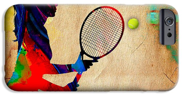 Womens Tennis IPhone 6s Case by Marvin Blaine