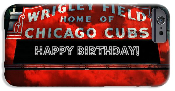 Wrigley Field -- Happy Birthday IPhone 6s Case