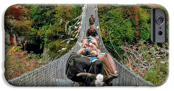 Yaks On Rope Bridge IPhone 6s Case