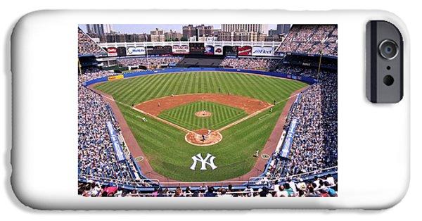 Yankee Stadium iPhone 6s Case - Yankee Stadium by Allen Beatty