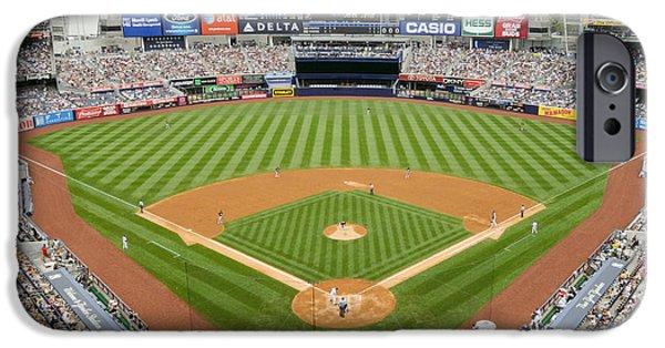 Yankee Stadium iPhone 6s Case - Yankee Stadium Ballpark New by Horsch Gallery
