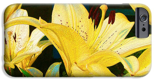 Yellow Lilies IPhone 6s Case