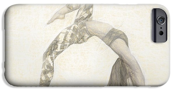 Yoga iPhone 6s Case - Yogi Yoga Meditation Woman by David Haskett II