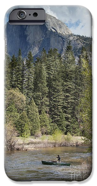 Yosemite National Park. Half Dome IPhone 6s Case by Juli Scalzi