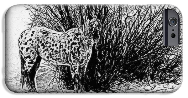 IPhone 6s Case featuring the photograph You Can't See Me by Karen Shackles