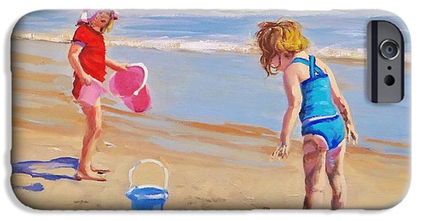 Beach iPhone 6s Case - Yuck by Laura Lee Zanghetti