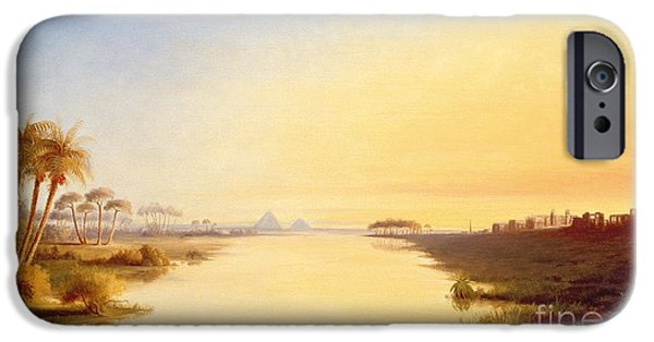 Ibis iPhone 6s Case - Egyptian Oasis by John Williams