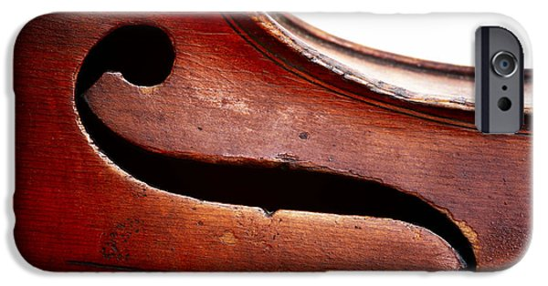 Violin iPhone 6s Case - G Clef by Michal Boubin