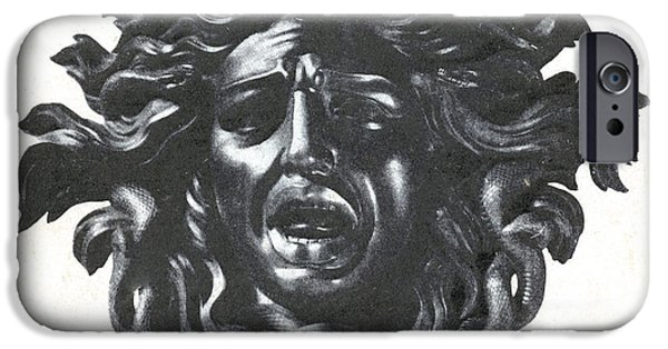 Medusa Head IPhone 6s Case by Photo Researchers