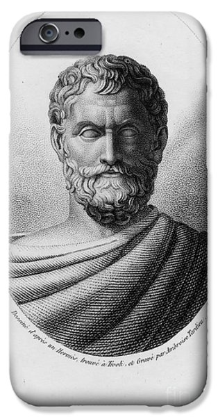 Thales, Ancient Greek Philosopher IPhone Case by Photo Researchers, Inc.