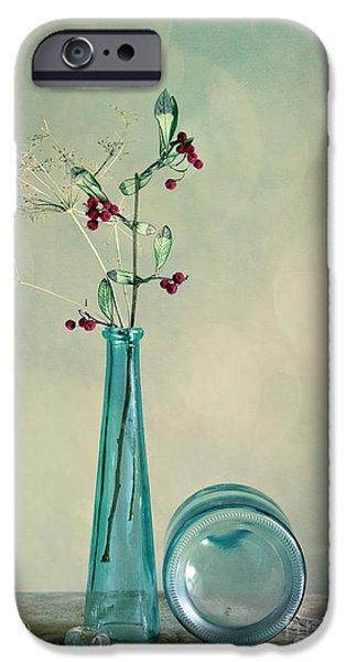 Blue Berry iPhone 6s Case - Autumn Still Life by Nailia Schwarz