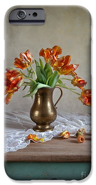 Tulip iPhone 6s Case - Still Life With Tulips by Nailia Schwarz