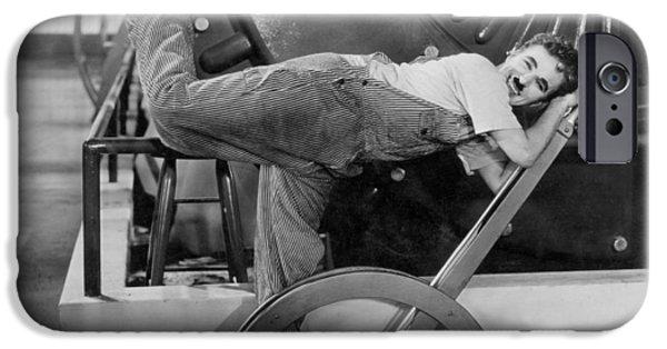 Chaplin: Modern Times, 1936 IPhone Case by Granger
