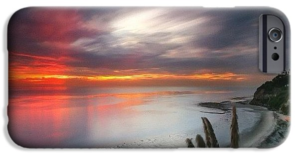 iPhone 6s Case - Long Exposure Sunset At A North San by Larry Marshall