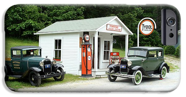 Antique Cars IPhone Case by Ted Kinsman