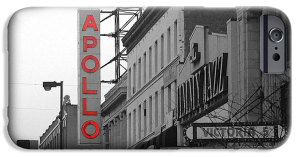 Apollo Theater In Harlem New York No.1 IPhone 6s Case by Ms Judi