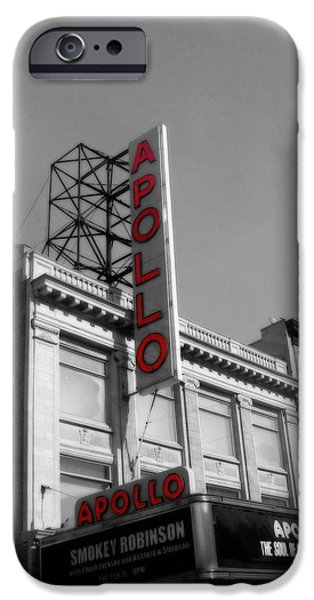 Apollo Theater In Harlem New York No.2 IPhone 6s Case by Ms Judi
