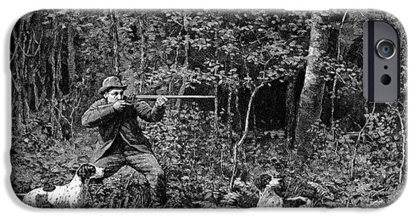 Bird Shooting, 1886 IPhone 6s Case by Granger