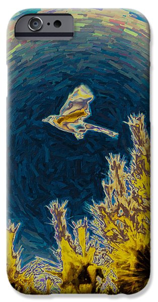 Bluejay Gone Wild IPhone 6s Case by Trish Tritz