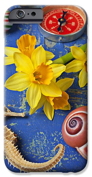 Daffodils And Seahorse IPhone 6s Case