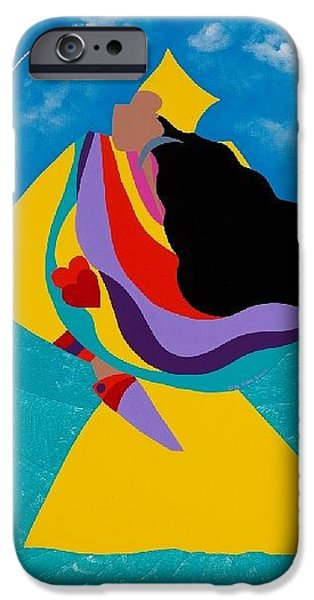iPhone 6s Case - Erzulie Haitian Goddess Of Love by Synthia SAINT JAMES