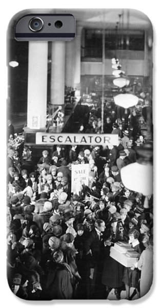 Film Still: Becky, 1927 IPhone Case by Granger