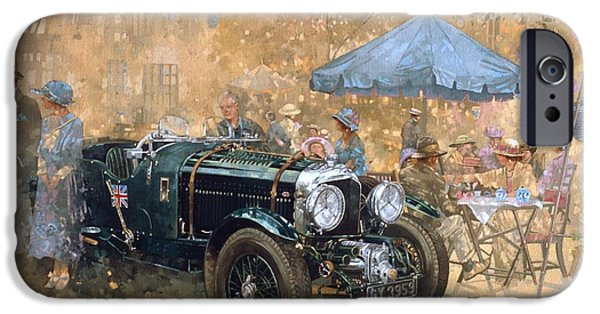 Car iPhone 6s Case - Garden Party With The Bentley by Peter Miller