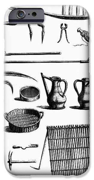 Garden iPhone 6s Case - Gardening Tools by Granger