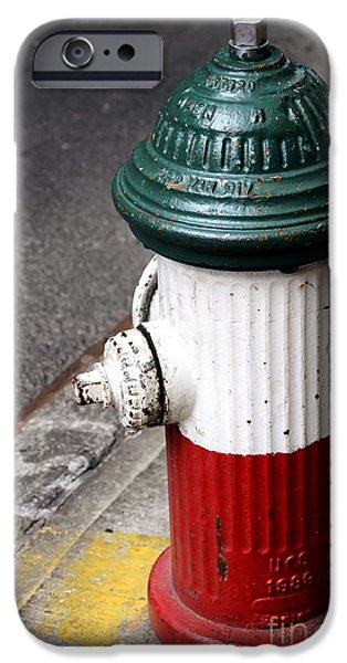 Italian Fire Hydrant IPhone 6s Case by Sophie Vigneault