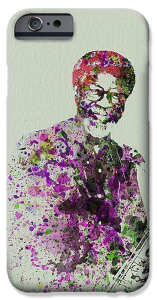Saxophone iPhone 6s Case - Joe Henderson Watercolor  by Naxart Studio