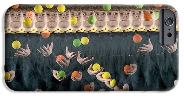 Juggler IPhone Case by Ted Kinsman