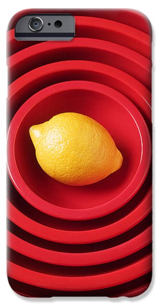 Lemon In Red Bowls IPhone 6s Case