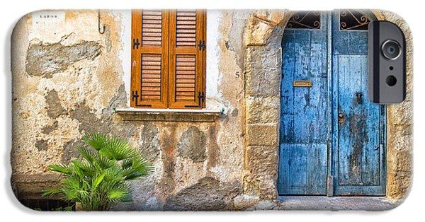 Mediterranean Door Window And Vase IPhone 6s Case