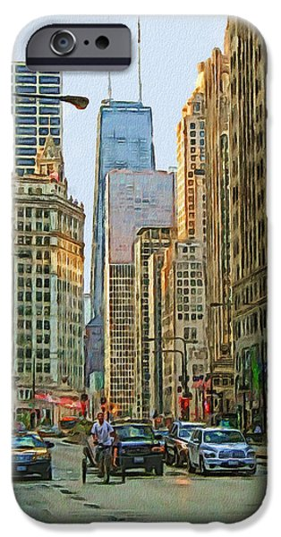 Michigan Avenue IPhone 6s Case by Vladimir Rayzman