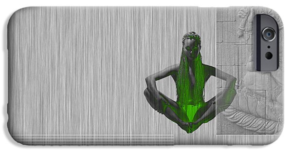 Yoga iPhone 6s Case - Nirvana by Naxart Studio