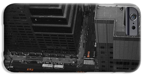 Chrysler Building iPhone 6s Case - Nyc From The Top 1 by Naxart Studio