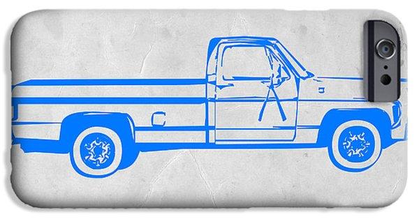 Truck iPhone 6s Case - Pick Up Truck by Naxart Studio