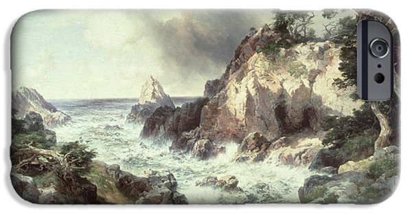 Point Lobos At Monterey In California IPhone 6s Case by Thomas Moran