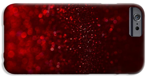 Red Sparkle IPhone 6s Case