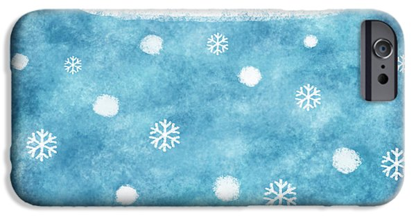 Snow Winter IPhone 6s Case by Setsiri Silapasuwanchai