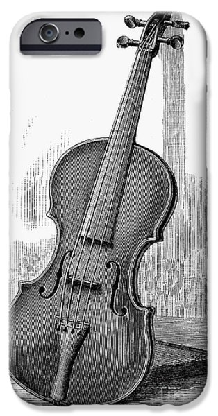 Violin iPhone 6s Case - Stainer Violin by Granger