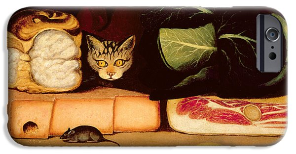 Still Life With Cat And Mouse IPhone 6s Case by Anonymous