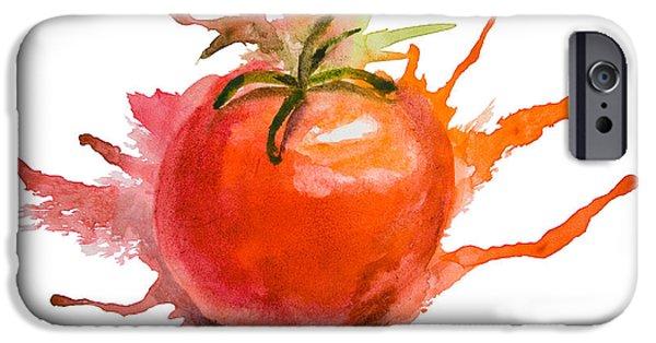 Stylized Illustration Of Tomato IPhone 6s Case